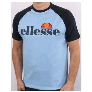 ellesse blue short sleeve T-shirt chest logo XXL